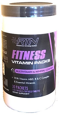 RTN FITNESS VITAMIN PACK (30 packs)