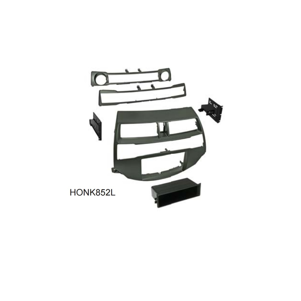 American International HONK852L Single/Double DIN Dash Kit