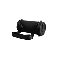 AOB A17-B49UF1 Portable Speaker w/Bluetooth/FM/USB/TF/AUX-In/Shoulder Strap - BLACK