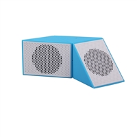 AOB A17-B809-6 Magic Cube Bluetooth Speaker - BLUE