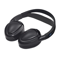 Audiovox MTG-HP2CA Dual Channel Fold-Flat IR Wireless Headphone