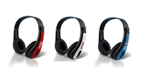 Axess HPBT624 Rechargeable Wireless Bluetooth Headphones with Mic