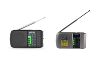 Axess PR3206 Portable AM/FM Radio w/USB/TF Player