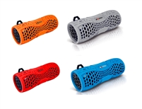 Axess SPBW1035 Rechargeable Water-Resistant Speaker with Bluetooth and Speakerphone