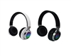 QFX H-252 Rechargeable Bluetooth Stereo Headphones w/FM/MicroSD/AUX IN/Mic