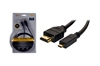QFX HD-1 6Ft. High Speed HDMI to Micro HDMI Cable