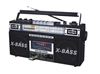 QFX J-22U Retro Collection AM/FM/SW1-SW2 4 Band Radio/ Cassette to MP3 Converter