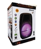 "QFX PBX-71100BTL 10"" Portable PA Speaker w/Bluetooth/FM/TF/USB/AUX-In/Lights/Remote"