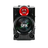 QFX PBX-9080 Rechargeable Speaker w/Bluetooth/USB/TF/FM/Remote/Lights
