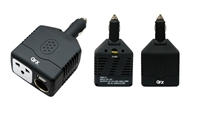 QFX PWR-72 150W Inverter with USB W/ Cigarette Lighter Plug