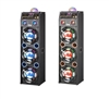 QFX SBX-410306 PA Speaker EQ/Bluetooth/Lights/FM/USB/SD Player/Remote