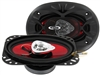 "Boss CH4620 4x6"" 2-Way 200 Watts Chaos Exxtreme Series Coaxial Car Speakers"