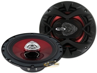 "Boss CH6520 6.5"" 2-Way 250 Watts Chaos Exxtreme Series Coaxial Car Speakers"