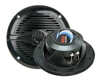 "Boss MR50B 5.25"" 2-Way 150 Watts Marine Full Range Speakers - BLACK"
