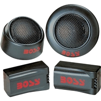 "Boss TW15 1"" 250 Watts Dome Car Tweeters"