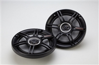 "Crunch CS65CXS 6.5"" 300 Watts 2-Way Shallow Mount Coaxial Car Speakers"