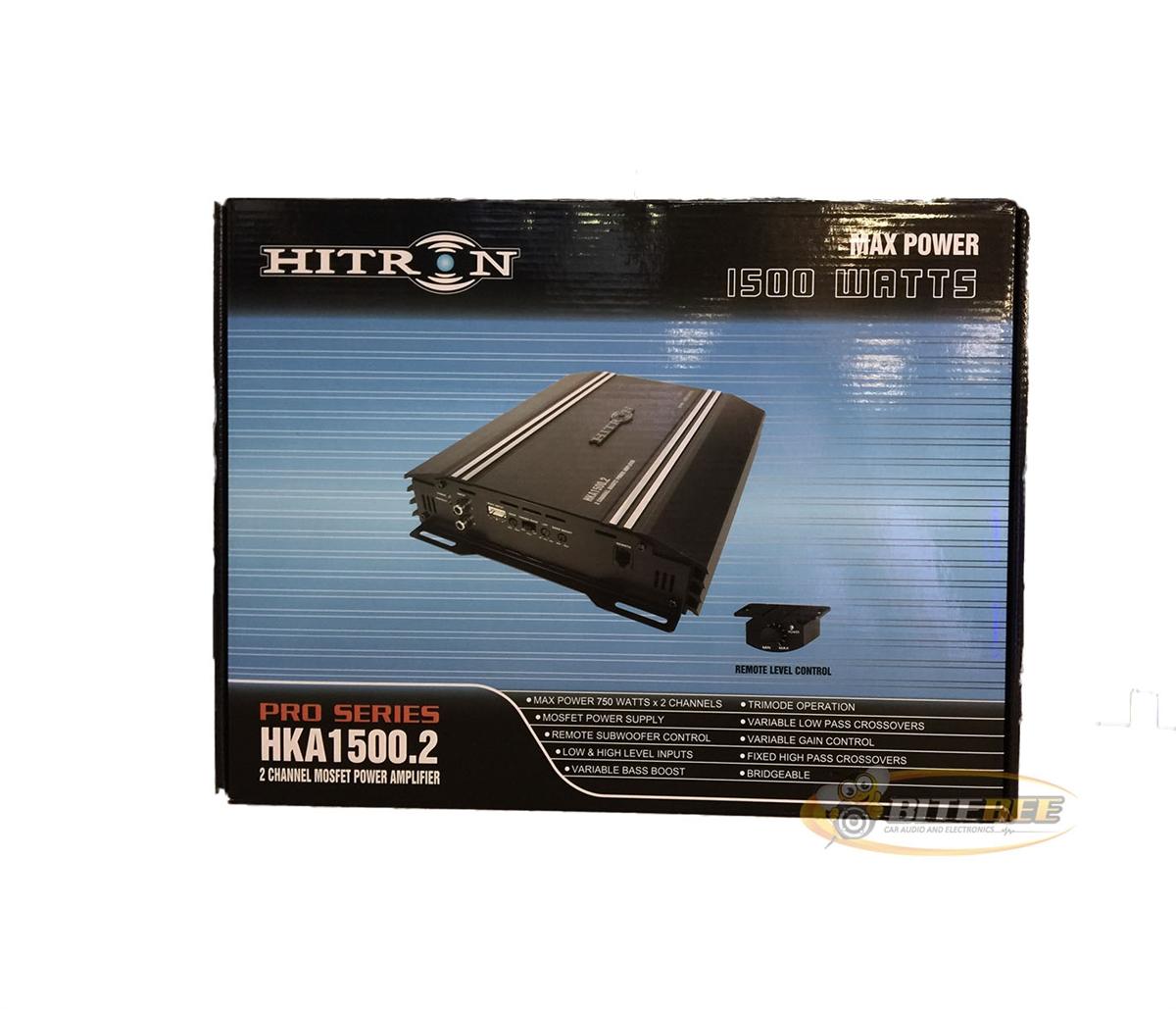 Hitron Hka15002 1500w 2 Channel Mosfet Pro Series Power Amplifier 1500 Watt High