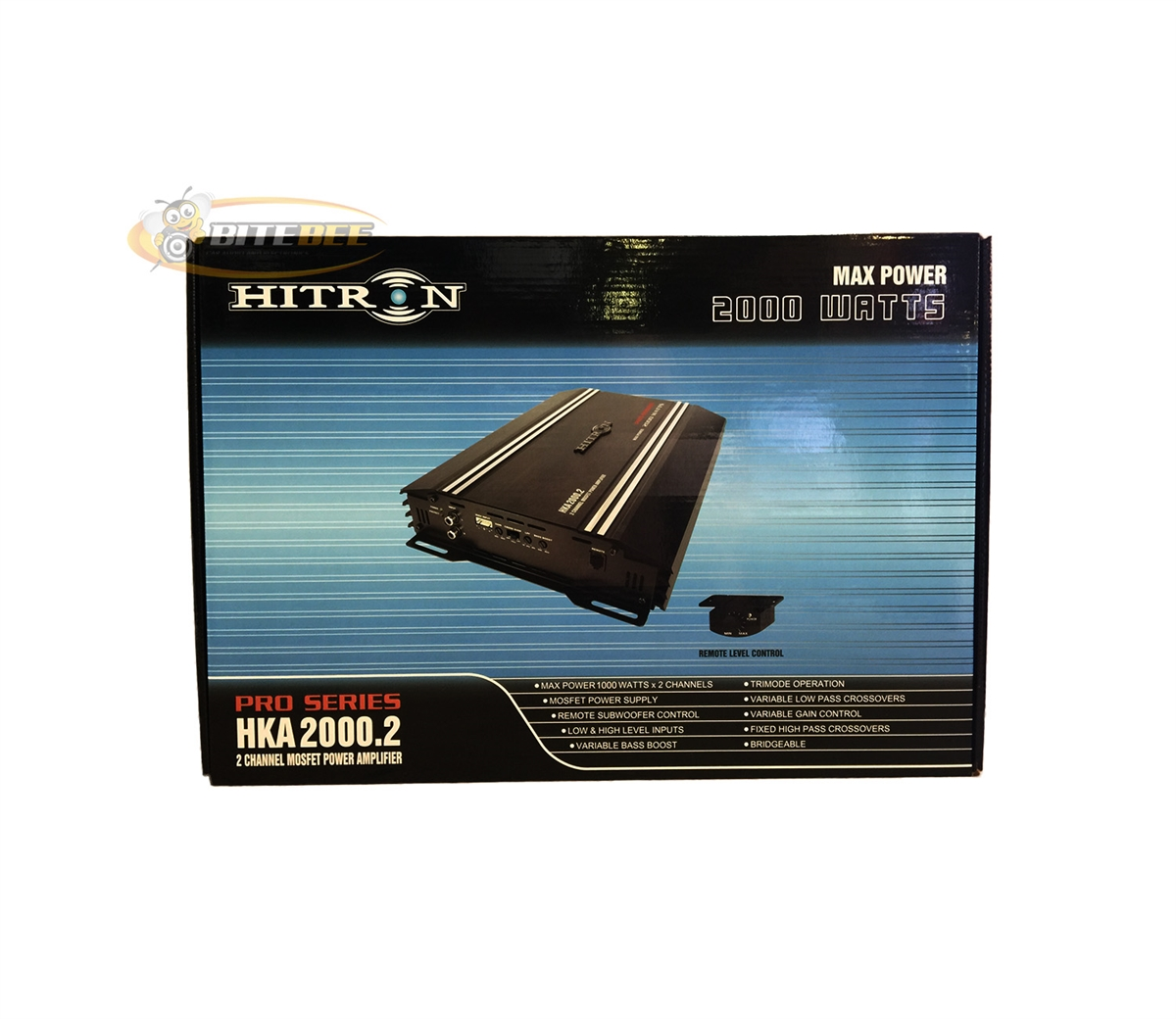 Hitron HKA2000 2 2000W 2-Channel MOSFET Pro Series Power Amplifier