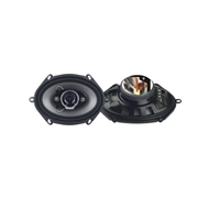 "Hitron HS-574 5""x7"" 350W 4-Way Coaxial Car Speakers"