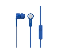 Icon Q JE20 Earbuds with Microphone - BLUE
