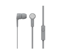Icon Q JE20 Earbuds with Microphone - SILVER