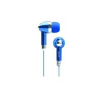 Icon Q QE1-KIC-BLU Kicks Earbuds  - Blue