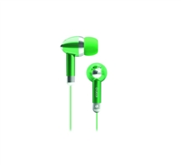 Icon Q QE1-KIC-GRN Kicks Earbuds - GREEN