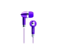 Icon Q QE1-KIC-PUR Kicks Earbuds - PURPLE