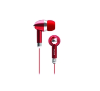 Icon Q QE1-KIC-RED Kicks Earbuds - RED