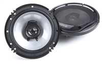 "Kenwood KFC-1665S 6.5"" 300W 2-Way Flush Mount Sport Series Car Speakers"