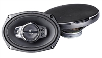 "Kenwood KFC-6995PS 6x9"" 5-Way Flush Mount Performance Series Car Speakers"