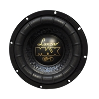 "Lanzar MAX8 8"" 600 Watts Single 4-Ohm Max Series Car Subwoofer"