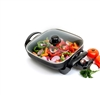 Maxi-matic EG-1220G 12-Inch Non-Stick Electric Skillet with Glass Lid - Black