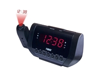 Naxa NRC-173 Projection Dual Alarm Clock Radio