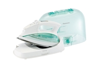 Panasonic NI-L70SRW Cordless Steam/Dry Iron w/ Curved Stainless Steel Soleplate
