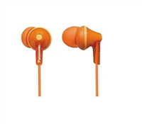 Panasonic RP-HJE125 Ergo Fit Stereo Earphones - ORANGE
