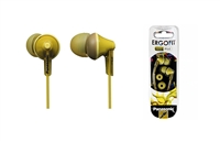 Panasonic RP-HJE125 Ergo Fit Stereo Earphones - YELLOW