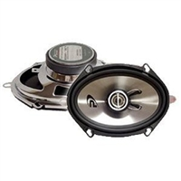 "Performance Teknique ICBM-757 5x7"" 2-Way 500 Watts Coaxial Car Speakers"