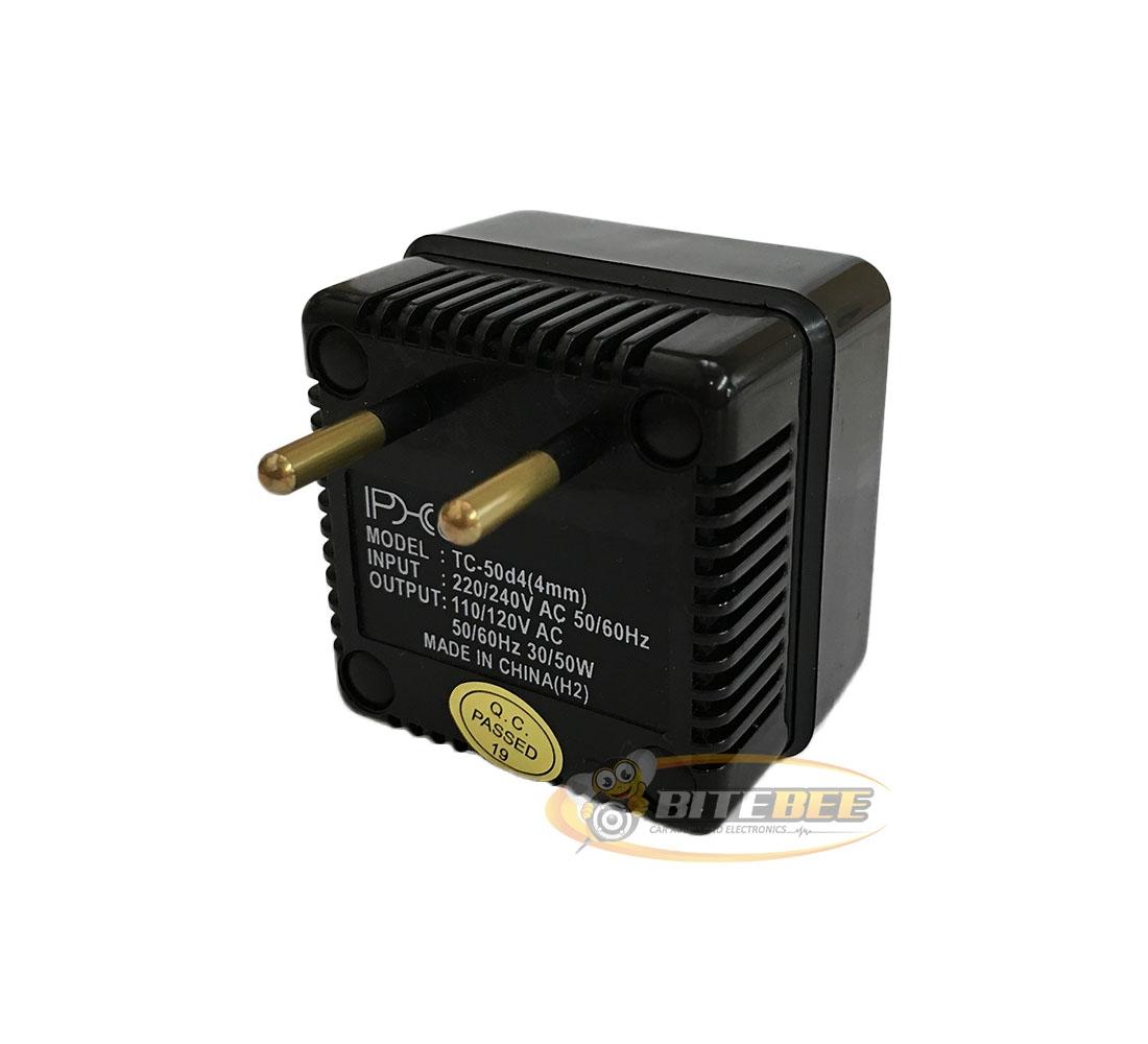 Phc Tc 50d Deluxe Step Down Voltage Converter 50 Watts 220v 240v To 110v 120v