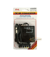 PHC TR-608 DC to DC Converter 800mA Regulated Car Power Adapter with 6 Plugs