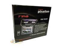 "Pixelon TM-703IR 7"" Flip Down TFT LCD Color Monitor ***Closeout Item***"
