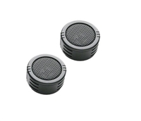 "PowerBass S-1ZT 1"" 200 Watts Zirconium Car Super Tweeters"