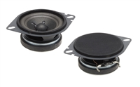 "Powerbass S-275CF 2.75"" 60W Direct Chrysler/Ford Factory Replacement Speakers"