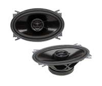"Powerbass S-4602 4x6"" 105 Watts 2-Way Coaxial Speakers"