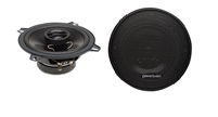 "Powerbass S-5202 5.25"" 120 Watts 2-Way Coaxial Speakers"
