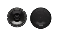 "Powerbass S-650T 6.5"" 135 Watts 2-Way Thin Mount Speakers"