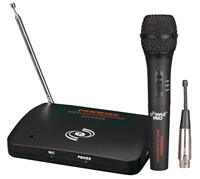 PylePro PDWM100 Dual Function Wireless/Wired Microphone System