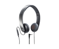 Shure SRH145M+ Headphones w/ Remote+Mic Deep, Rich Bass w/ Full-Range Audio.