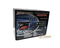 "Starvision PACK 8 DVD IR 8"" Complete Automobile Entertainment System ***AS-IS***"