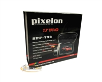 "Pixelon SPF-736 7.3"" Flip Down TFT LCD Color Monitor - Gray *Closeout Item*"